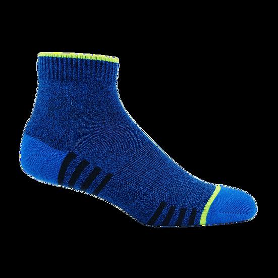 ถุงเท้ากีฬามีข้อ Pally SS19 สีน้ำเงิน
