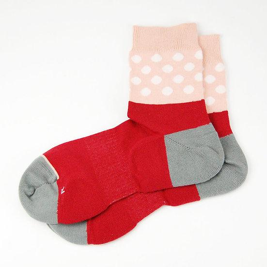 ถุงเท้าผู้หญิง Comfy socks - ลายจุด
