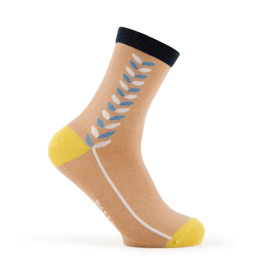 ถุงเท้าแฟชั่นผู้หญิง Leaf Pattern - Winter Collection