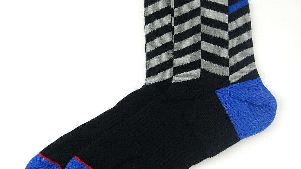 Comfy Men Socks - Bulk Chevron