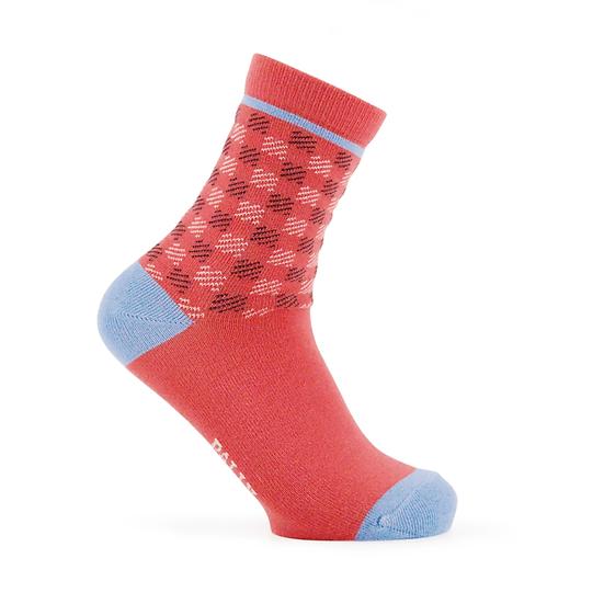 ถุงเท้าแฟชั่นผู้หญิง Grid Pattern - Winter Collection