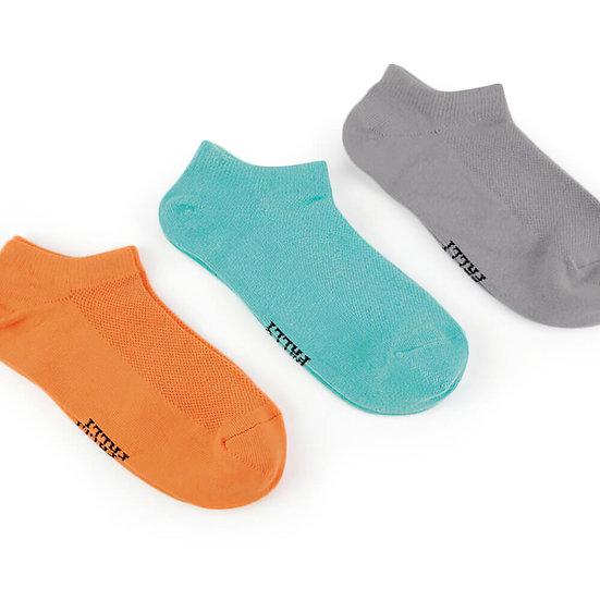 ถุงเท้ากีฬาข้อสั้น Daily by Pally 3 คู่แพ็ค