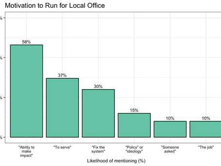 Who leads local government?