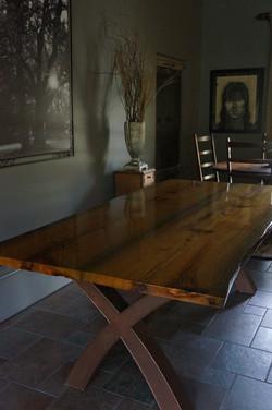 Sabine Sinker Cypress Dining Table