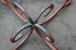 Verdigris Patina on copper
