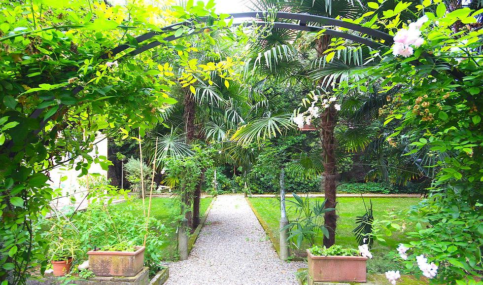 внутренний сад школы