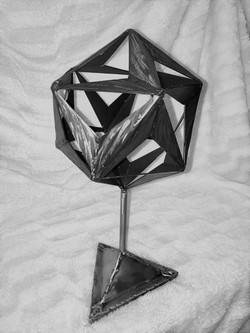 Folded Icosahedron_2MP