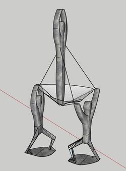 Elevate- a Tensegrity Sculpture