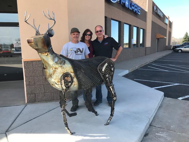 Steampunk Buck for Northway Sports Polaris Dealer