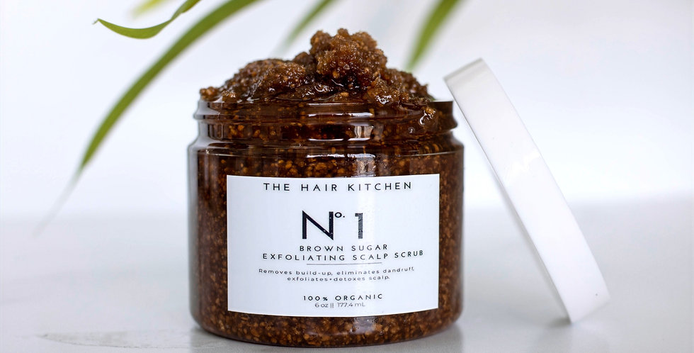 No. 1 Brown sugar Exfoliating Scalp Scrub