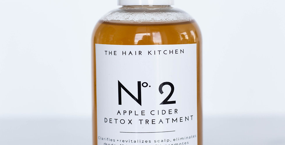 No. 2 Apple cider detox treatment