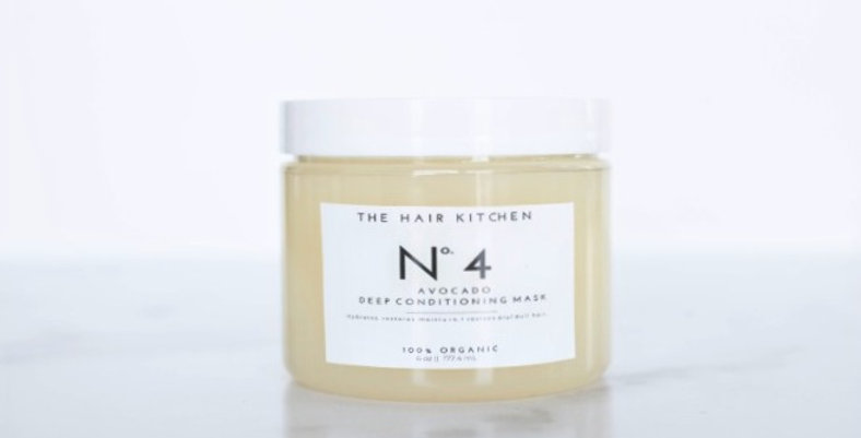 No. 4 Avocado deep conditioning mask
