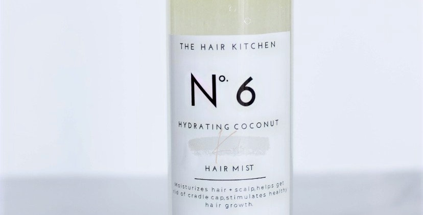 No.6 Kids hydrating coconut hair mist