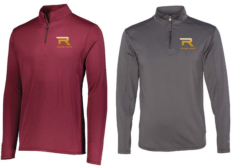 1/4 Zip Wicking Pullover (Adult)