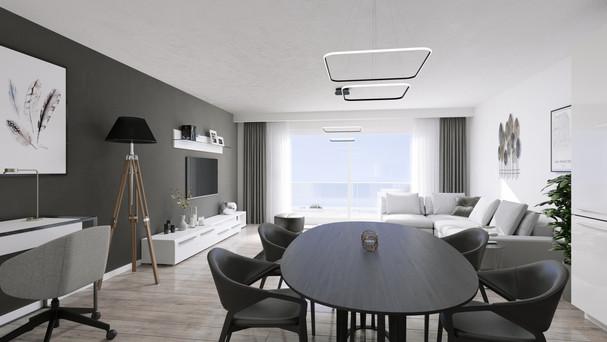 Intérieur appartement 3D