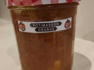 Confiture Potimarron - Orange