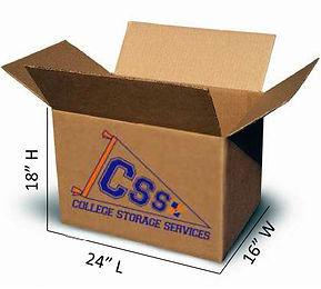 College Storage Services college boxes