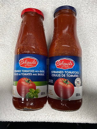 Sauce belgusto au tomate 680ml.