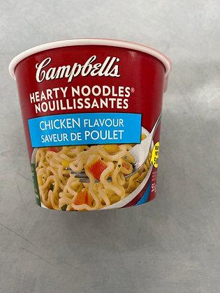 Nouille campbell's saveur de poulet 55g