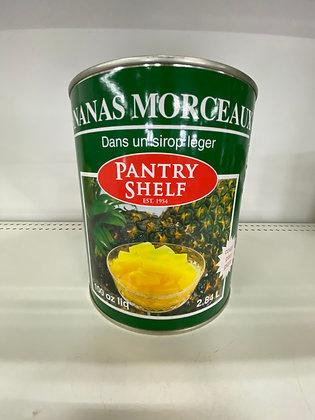 PANTRY S. ANANAS MORCEAUX 2.84L