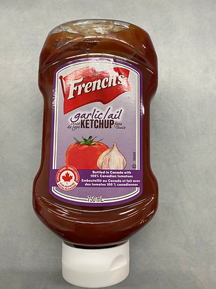 Ketchuo french's à l'ail 750ml