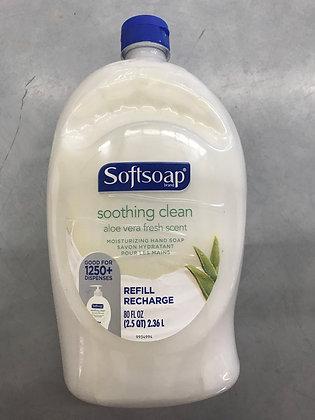 Softsoap recharge nettoyant pour les mains