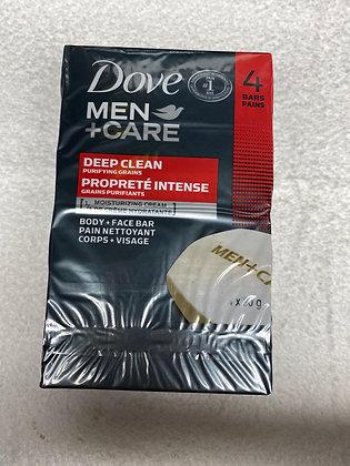 Dove men+care 4 barre de savon propreté intense