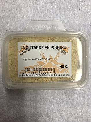 Moutarde en poudre 40g