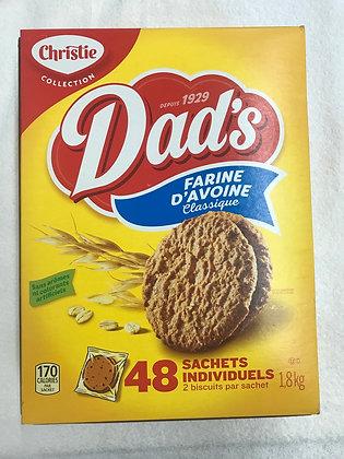 Biscuit dad's farine d'avoine classique 1,8kg
