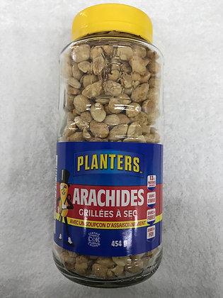 Arachides planters grillées à sec 454g