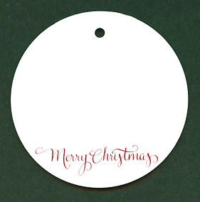GC9 - Glass Circle_Merry Christmas - Wor