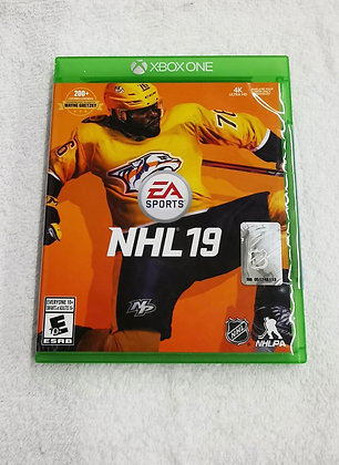 JEU XBOX ONE NHL 19