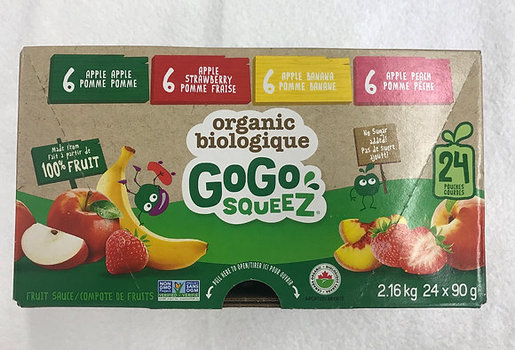 Gogo squeez 24x90g
