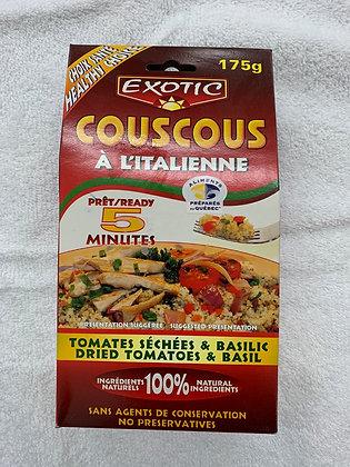 Exotic couscous à l'italienne