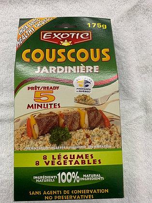 Exotic couscous jardinière