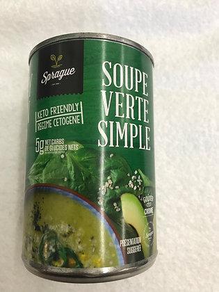 Soupe verte simple 398ml