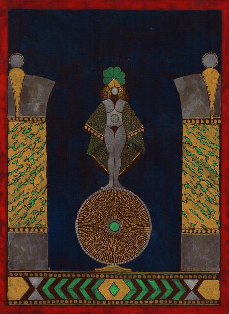 ROGER  BLAQUIÈR   絵画展   古代変奏曲 〜 Variation antique imaginaire
