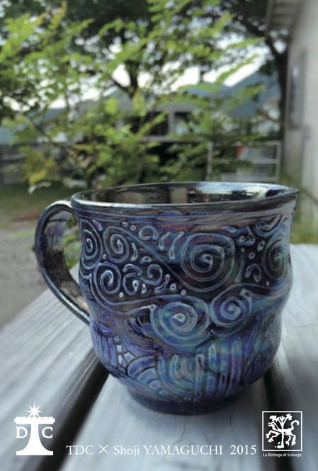 山口祥治 作陶展 2015 プラチナと陶器のアートな世界展