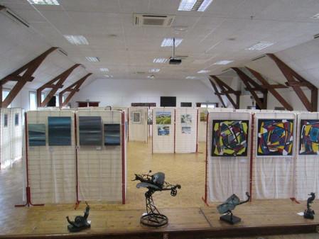 TDC Voyage chez ARTEC'2015 : Salon International d'Art Contemporain (Hall d'exposition de Chouzy/Blo