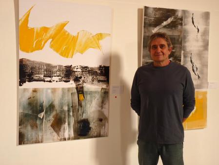 ブルターニュの世界を抽象世界で描く    Jean BECETTE 絵画展