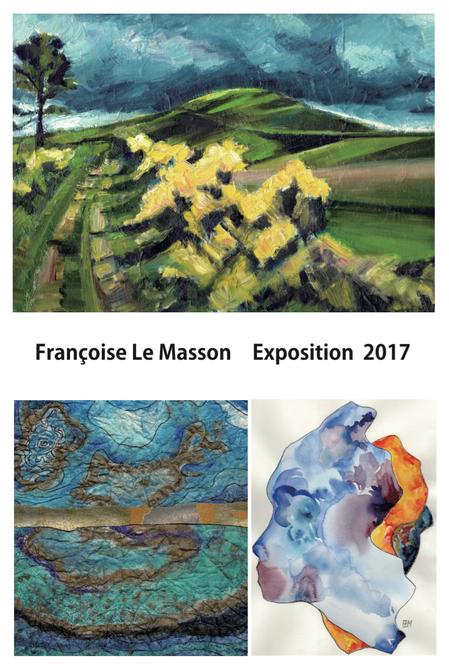 Françoise Le Masson   絵画展   フランス的時間 〜 Le Temps de la France