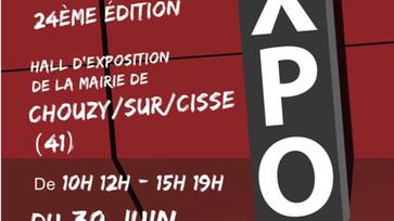 TDC Voyage 第8弾 - 「ARTEC EXPO Salon européen d'art contemporain 24ÈME ÉDITION)6/30-7/10  CHOUZY(シ