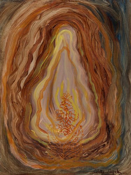 Colette Segalen 絵画展   Semences de contemplation  瞑想の種子
