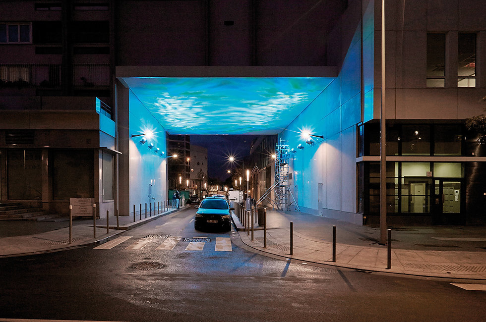 texture lumineuse bleu french light