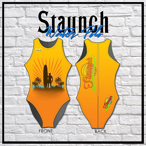 Ladies Surfer One Piece Swimsuit | 2021 | Staunch Water Polo