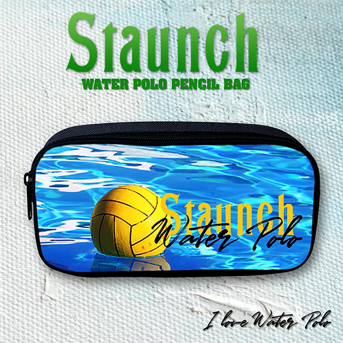 Cute Water Polo Pencil Case Pouch For Kids   Staunch Water Polo
