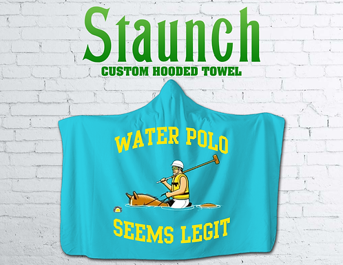Hooded Beach Towels In Australia | 2021 | Staunch Water Polo