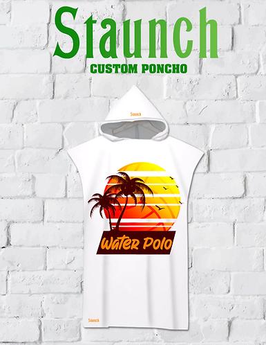 Tropical Beach Poncho Toddler Apparel   2021