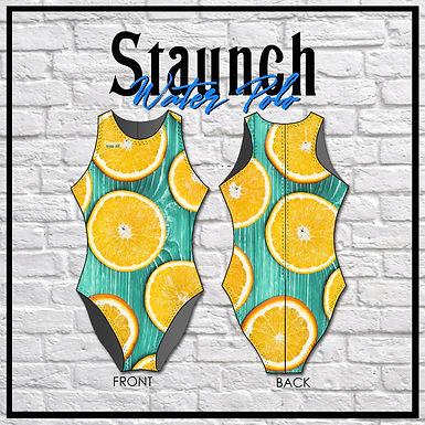 Staunch Seafoam Citrus Ladies WP Suit