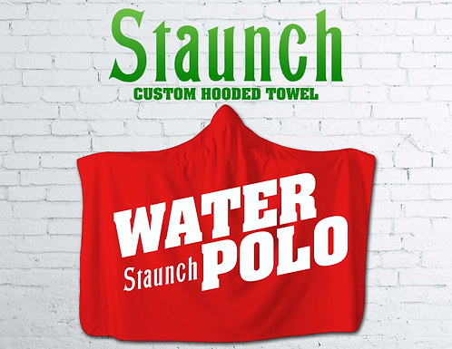 Staunch -Varsity Hooded Towel I